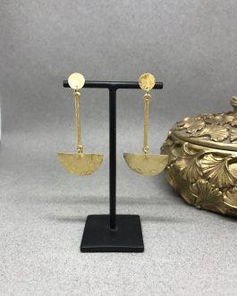 Pendientes Azteca Gold